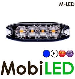 M-LED M-LED Flash bleu super fin 4 Led E-mark