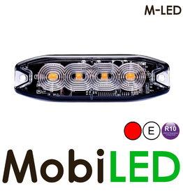 M-LED M-LED Flash rouge  super fin 4 Led E-mark