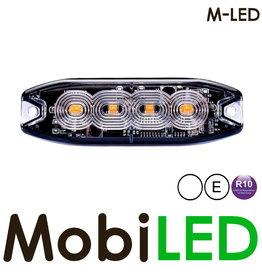 M-LED M-LED Flash blanc super fin 4 Led E-mark