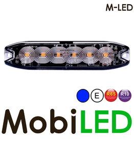M-LED M-LED Flash bleu super fin 6 Led E-mark