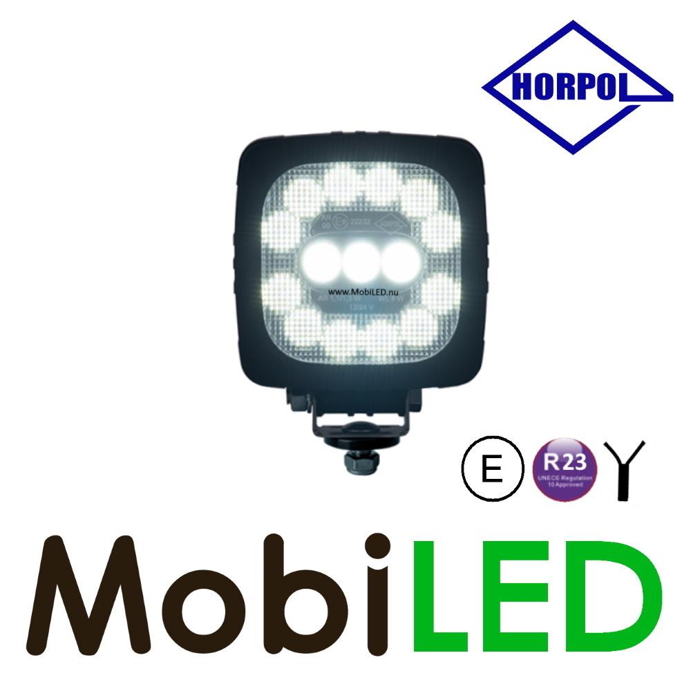 HORPOL Werklamp en achteruitrijlamp 15 leds IP68