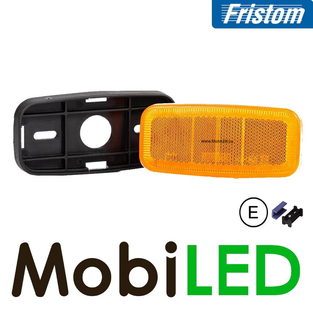 Fristom Amber markering met afgeronde hoeken E-keur