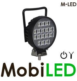 M-LED M-LED Werklamp rond met schakelaar 16 watt
