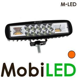 M-LED Werklamp met amber flitser
