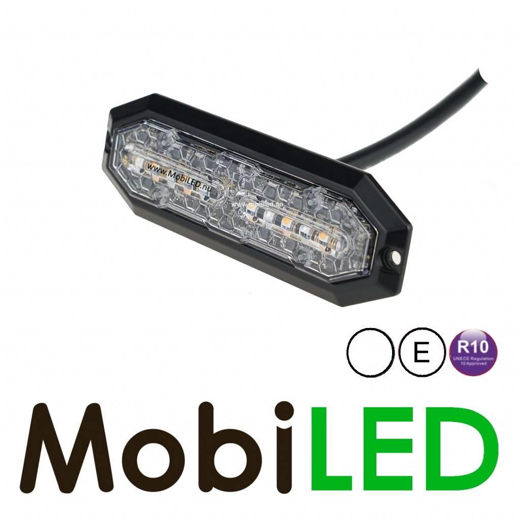 Klasse 2 LED Flitser Wit Ultra dun E-keur Flits en richtingaanwijzer