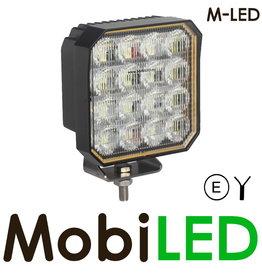 M-LED Werklamp 90 Watt vierkant