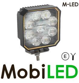 M-LED Werklamp 35 Watt vierkant