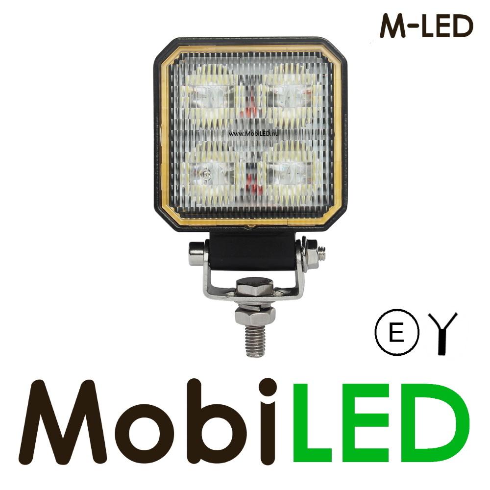 M-LED Werklamp 20 Watt vierkant E-keur