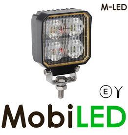 M-LED Werklamp 20 Watt vierkant
