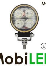 M-LED Werklamp 20 Watt rond E-keur