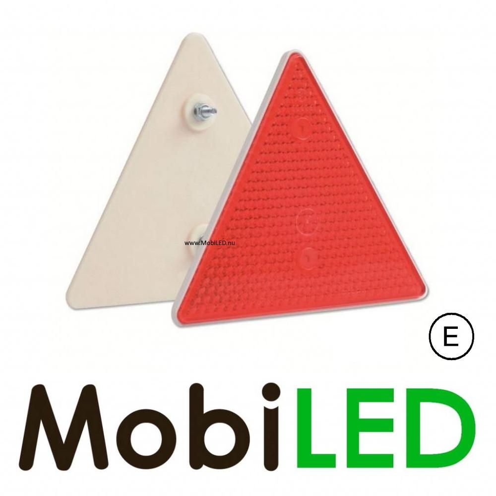 Reflector driehoek Rood E-keur (2 stuks)