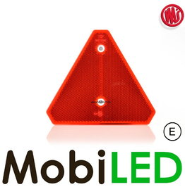 WAS Reflector driehoek Rood E-keur