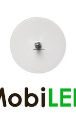Reflector 8cm rond Wit E-keur blinde montage