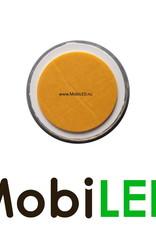 Reflector 6cm rond Amber E-keur zelfklevend