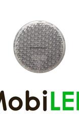 Reflector 6cm rond Wit E-keur zelfklevend