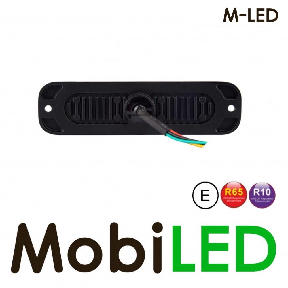 M-LED Flitser Amber ultra dun E-keur