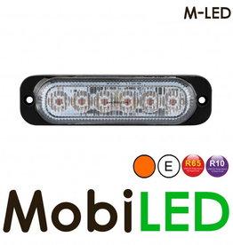 M-LED Flash ambre Ultra mince E-marque