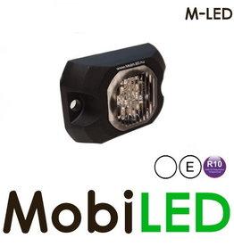 M-LED Hide away LED flitser wit opbouw