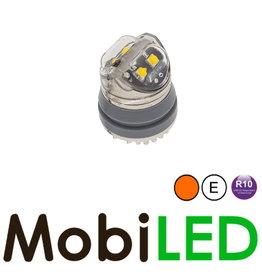 M-LED Undercover inbouw Flitser Pop in amber