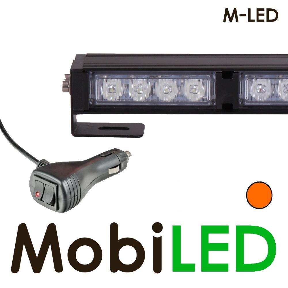 M-LED Traffic advisor flitser 4 leds 357mm Amber