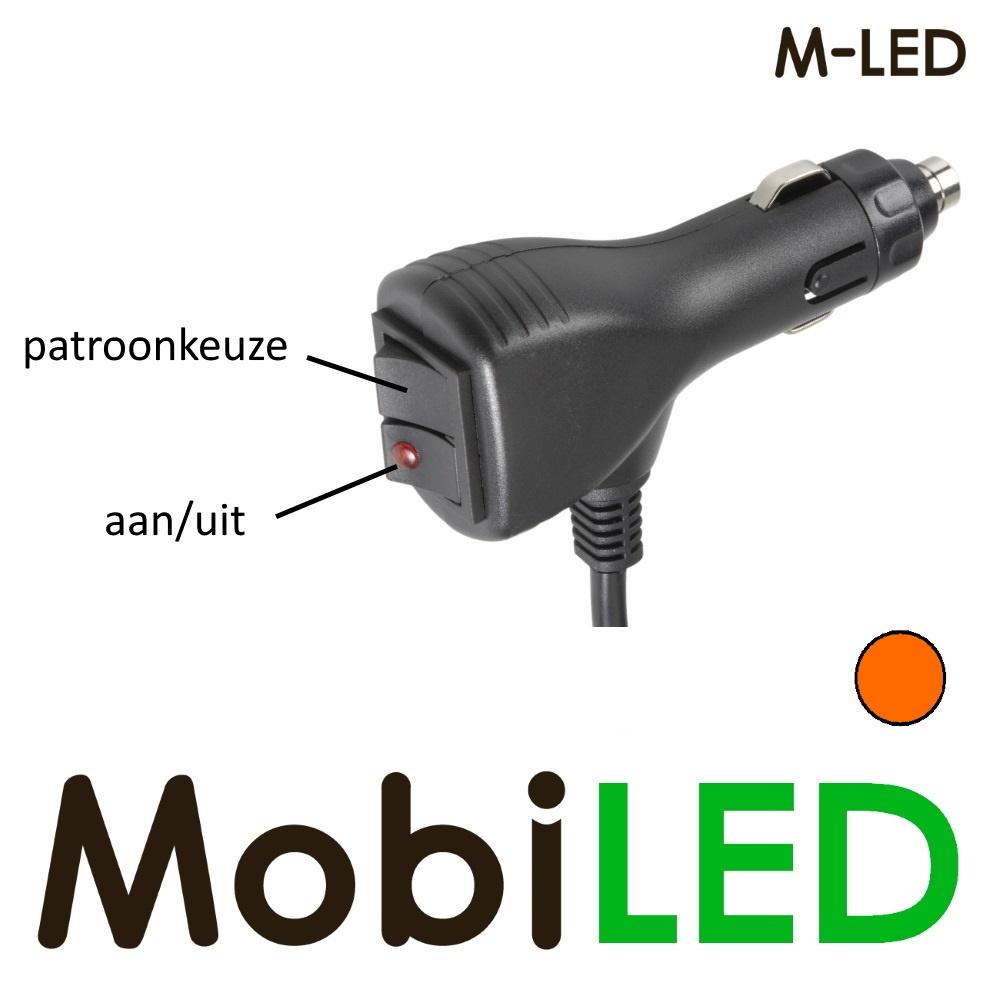 M-LED Traffic advisor flitser 8 leds 708 mm Amber