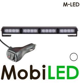 M-LED Traffic advisor flitser 4 leds Wit
