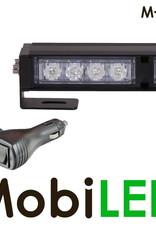 M-LED Traffic advisor flash 8 leds 708 mm  Blanc
