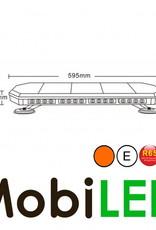 Flitsbalk 600mm 70W ECE R10-R65 Amber