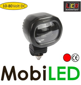 LED autolamps LED veiligheidslamp 12-80V rood