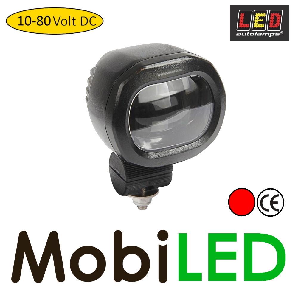 LED autolamps LED veiligheidslamp 12-80V rood compact