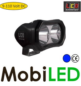 LED autolamps Blue spot safety LED 10-110 Vdc