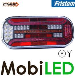 Fristom Achterlicht 5 functies rechthoek reflector links kabel