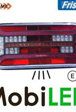 Fristom Achterlicht 5 functies reflector kenteken links kabel
