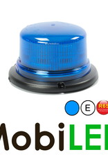 Juluen B16 Zwaailamp / Flitslamp  Blauw 14 patronen vaste montage 10-30 Vdc R65 klasse 2