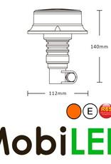 Flitslamp UFO 27w opsteek DIN flex