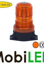 Flitslamp 30 watt 10-110V Amber E-keur