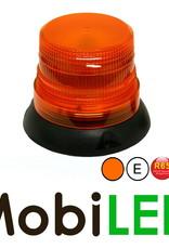 Flitslamp Magneet Vast Amber E-keur