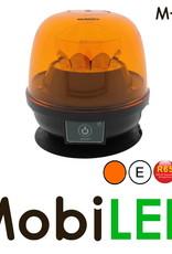 M-LED Oplaadbare zwaailamp / flistlamp met magneetvoet E-keur