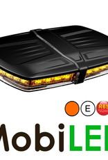 Flitsbalk dakset 23 watt Amber E-keur magneet