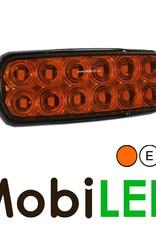 Flitser compact 12 leds amber