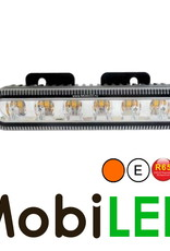 Flitser compact 6 leds