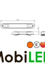 Flitsbalk 1494 70W R10-R65 amber