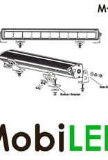 M-LED M-LED 100 watt single row met dual color E-keur