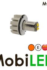 M-LED Undercover inbouw/opbouw  flitser amber E-keur