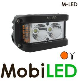M-LED Side shooter met amber flitser