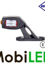 HORPOL Pendellamp Horizontaal Schuin model Rechts Rood/Amber/Wit 12-24 volt E-keur