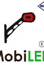 HORPOL Pendellamp Schuin model Rechts Rood/Amber/Wit 12/24V E-keur Groot