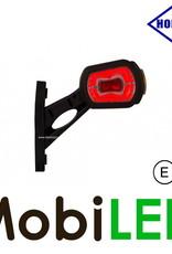 HORPOL Pendellamp Schuin model Rechts Rood/Amber/Wit 12/24V E-keur klein