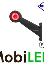 HORPOL Breedtelamp Contour Lang Schuin Links 12-24 volt E-keur