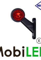 HORPOL Breedtelamp Contour Kort Schuin Links 12-24v E-keur
